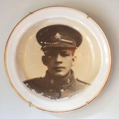WW 1 Canadian soldier plate