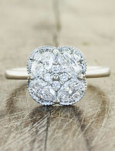 Unique engagement rings by ken and dana design