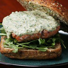 Easy Zesty Salmon Burgers Recipe by Tasty