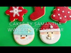 Cookies, Christmas Ornaments, Holiday Decor, Cake, Desserts, Youtube, Food, Crack Crackers, Tailgate Desserts