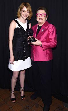 Emma Stone, Billie Jean King