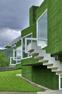 Talk about sustainable. This brings a total new meaning to green roofing.