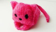 Amigurumi Kitty knitting pattern for lefthanded