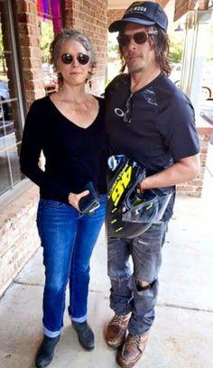 Norman Reedus and Melissa McBride