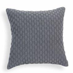 Cuscino in tessuto grigio 60 x 60 cm ALDEN maison