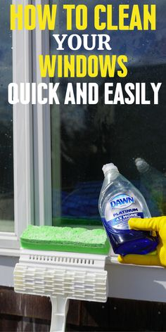Diy Household Tips 243616661082719435 - The best window cleaning method you will need to know. Anyone can clean there windows this way because its so easy. Source by lanowallace Homemade Cleaning Supplies, Diy Home Cleaning, Household Cleaning Tips, House Cleaning Tips, Deep Cleaning, Spring Cleaning, Cleaning Hacks, Cleaning Schedules, Cleaning Lists