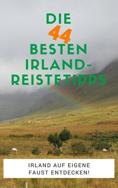Die praktische Packliste für den entspannten Urlaub in Irland! Packe deinen Koffer für den nächsten Irland-Tripp einfach und schnell. Spare Zeit und Geld!