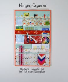 Hanging Organizer Tutorial
