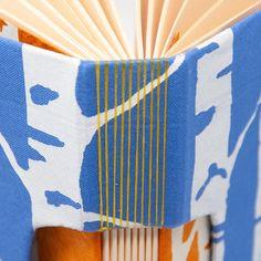 Journal / Notebook / Artist Sketchbook / Blank Hand Bound Book | Etsy Journal Notebook, Journals, Artist Sketchbook, Blank Book, Handmade Books, Wave Pattern, Paper Decorations, Bookbinding, Periwinkle