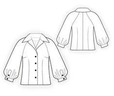 (9) Name: 'Sewing : Blouse Sewing Pattern 4121