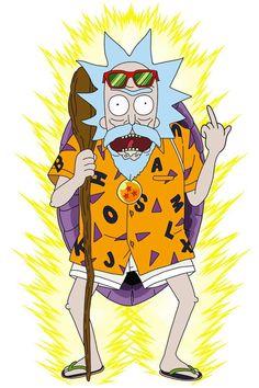 rick and morty stickers Rick and Morty x Dragon Ball Z Rick And Morty Crossover, Anime Crossover, Rick And Morty Drawing, Rick And Morty Stickers, Rick And Morty Poster, Ricky And Morty, Joker Art, Anime Comics, Dragon Ball Z