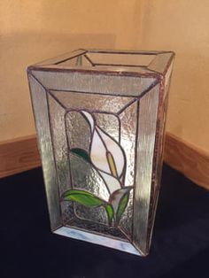 Candle Lanterns, Candles, Stained Glass Ornaments, Shelters, Terrarium, Tiffany, Vase, Home Decor, Stained Glass Art