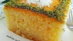 KLASİK REVANİ TARİFİ - Nefis Yemek Tarifleri Cornbread, Food And Drink, Ethnic Recipes, Millet Bread, Corn Bread