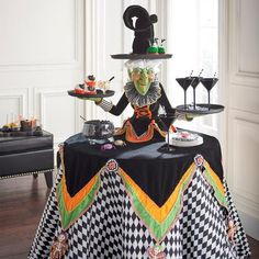 Katherine's Collection Witch Tabletop Server