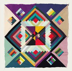 Beautiful patterns by Copenhagen-based design studio, Hvass.