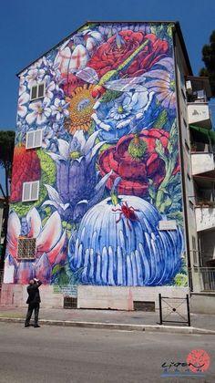 Liqen. Street Art. Art. Graffiti.