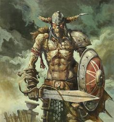 Draugr - zombie from Norse mythology, the draugr carries the stench of death and is incredibly strong. They are said to devour people, drink blood, and have the power to drive mortals insane.