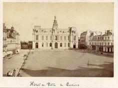 France, Hôtel de Ville de Poitiers Vintage albumen print. Tirage albuminé | eBay Poitiers, France, Louvre, Building, Vintage, Travel, Ebay, Photography, Sons