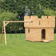 Amish Made Play set: Perfect for  backyard or public playground! Horus of fun for all ages.