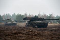 Британские танки в действии!