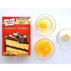 How to Make Pie Crust from Boxed Cake Mix - Cake Mix Hacks - Delish.com