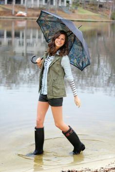 The Closet Confessional: Outfit Post: April Showers