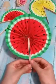 Paper Crafts Origami, Fun Diy Crafts, Paper Crafts For Kids, Camping Crafts, Craft Activities For Kids, Creative Crafts, Preschool Crafts, Diy Paper, Paper Art
