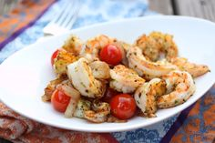 Sauteed Shrimp With Cherry Tomatoes ~ Nom Nom Paleo