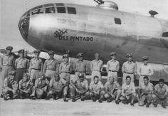 b 29 bomber crew | Home » Photos » B-29 Superfortress bomber 'USS Pintado', named after ...