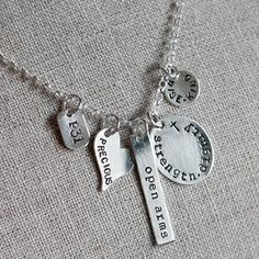 Proverbs 31 Heirloom Necklace by @amycornwell