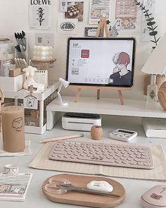 Desk Setup, Study Motivation, Minimalist Bedroom, Tables, Korean, Kids Rugs, Furniture, Home Decor, Motivation To Study