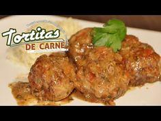 TORTITAS DE CARNE RECETA SALVADOREÑA - YouTube