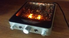 The tube-driven Desktop Valve Amplifier from IMS Electronics