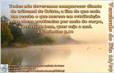Versículo do Dia 10/09