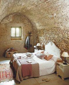 Bedroom Tuscan Villa