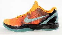 Nike Basket Zoom Kobe VI All-Star Orange County Sunset