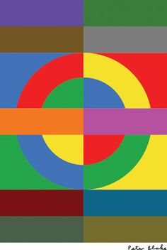 Pop artist Sir Peter Blake and Turner prize-winner Martin Boyce are among the artists who have reworked the iconic London Underground logo in a project celebrating its creation a century ago. Jasper Johns, Roy Lichtenstein, Pop Art, Andy Warhol, Richard Hamilton, Underground Map, Beatles Albums, London Icons, Tunnel Of Love