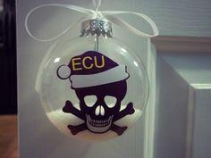 ECU Pirate Ornament