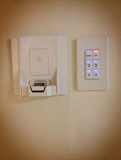 Channelvision iPod wall dock with #Control4 home automation  @ExtraVegetables driver via @ETCSECURITYC4