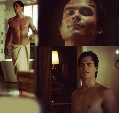 The vampire diaries Damon Salvatore in 3x11