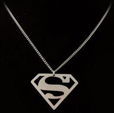 Superman Symbol, Superman Logo, Supergirl Tv, Nickel Silver, Metal Necklaces, Gifts For Him, Arrow Necklace, Pendants, Diamond