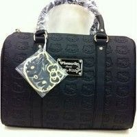 acf26d613c Hello Kitty Embossed Faux Leather Handbag