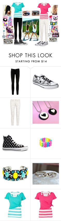 """""""Best Friends♥"""" by blazestarzz ❤ liked on Polyvore featuring Nobody Denim, Converse, Mulberry, Justin Bieber, MAC Cosmetics, Naked & Famous, Britney Spears, DANNIJO and White Label"""