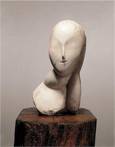 """Constantin Brancusi, """"Muse"""""""