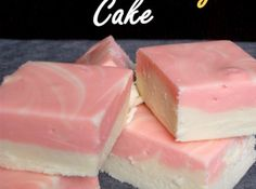 Birthday Cake Fudge ~ Lisa's Notes: From The Velvet Moon Baker, I have not tried this recipe yet but looks incredibly easy. Fudge Recipes, Candy Recipes, Baking Recipes, Dessert Recipes, Nut Recipes, Snack Recipes, Just Desserts, Delicious Desserts, Yummy Food
