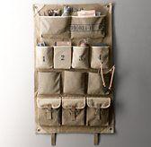 Distressed Canvas Wall Storage | Wall Storage | Restoration Hardware Baby & Child