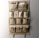 Distressed Canvas Wall Storage | Wall Storage | Restoration Hardware Baby & Child