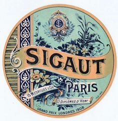 Vintage French Soap Packaging. This would be great on canvas hanging in the bathroom!