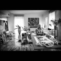 """Mi piace"": 2,355, commenti: 33 - Cesare Catania FUN PAGE 🎨 (@art_cesarecatania) su Instagram: ""▶▶... in my #atelier ... ◀◀ #cesarecatania #cesare #catania #architecture #art #design #artist #interiordesign #artgallery #museum #momamuseum #contemporaryart #painting #sculpture #masterpiece #abstract #colour #современноеискусство #現代美術 #当代艺术 #madeinitaly #室内设计 #インテリアデザイン #дизайнинтерьера #最重要的当代艺术家 #mostimportantcontemporaryartist #Самыйважныйсовременныйхудожник"