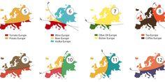 20 Ways You Can Slice Up Europe  #FlipOver #AtlasOfPrejudice